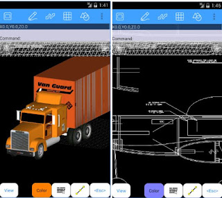 تطبيق AutoQ3D CAD لتصميم رسومات ثلاثية الأبعاد