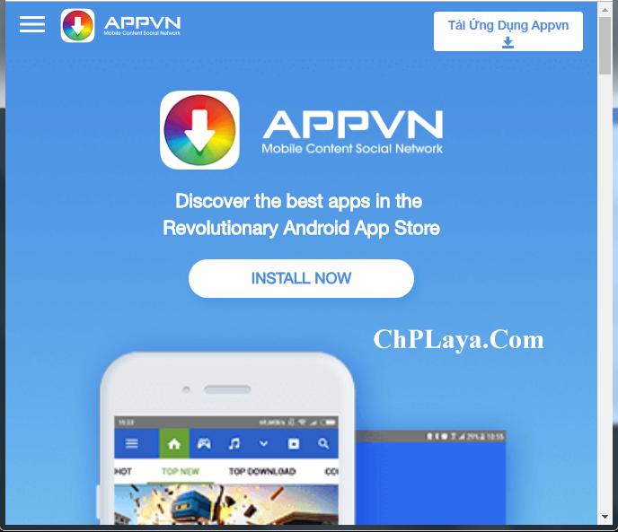 Tải Appvn - Thỏa sức khám phá kho ứng dụng Android, IOS miễn phí a