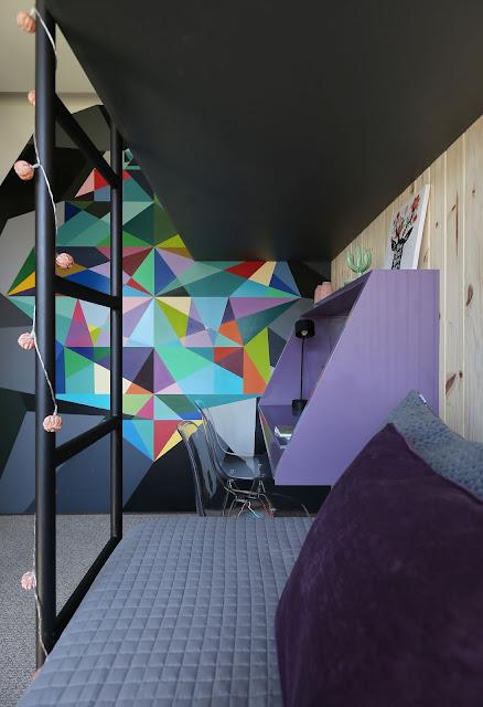 decoration- geometric- wall -painting-inspiration