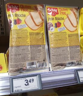 Pain Brioche by Schär gluten free