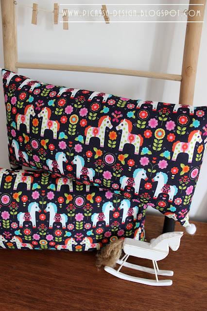 Poduszki dla dziecka – kotki&koniki