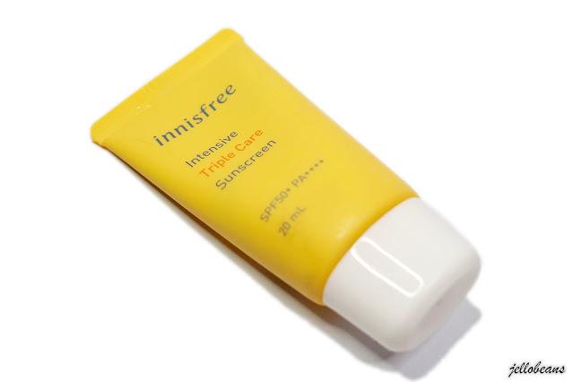 Innisfree Intensive Triple Care Sunscreen