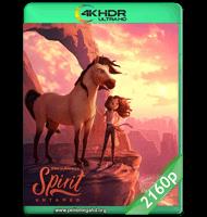 SPIRIT: EL INDOMABLE (2021) WEB-DL 2160P HDR MKV ESPAÑOL LATINO