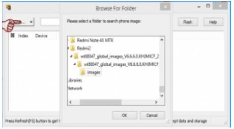 menambahkan file rom redmi note 4x