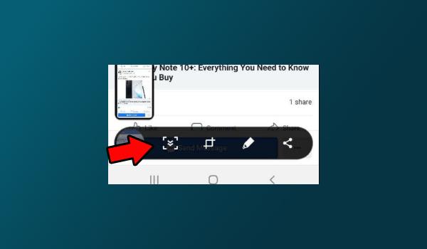 Screenshot panjang (Scroll Capture) Samsung A30sScreenshot panjang (Scroll Capture) Samsung A30s