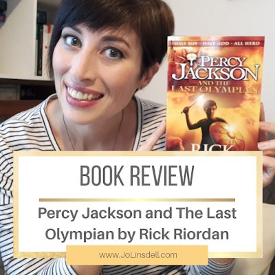 Book Review: Percy Jackson and the Last Olympian by Rick Riordan