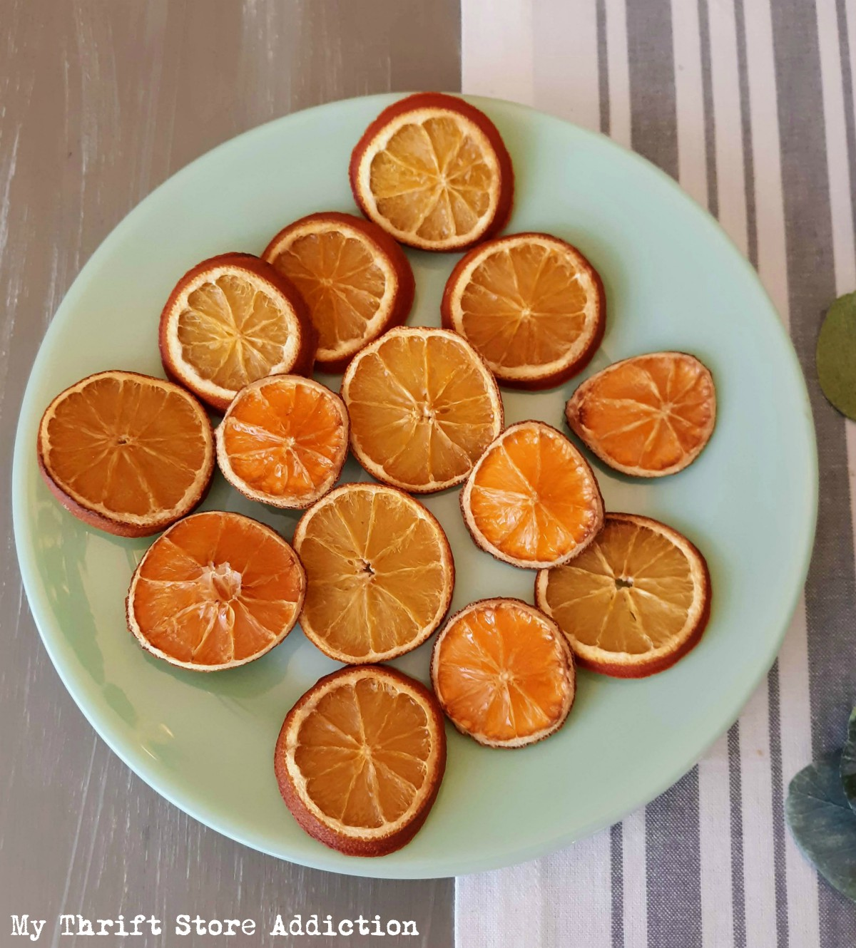 fragrant dried oranges