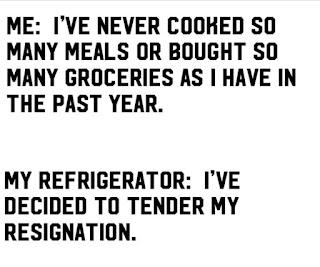 My refrigerator died