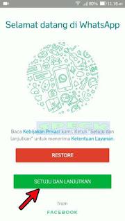 Tampilan Wizard WhatsApp Plus Wa Mod