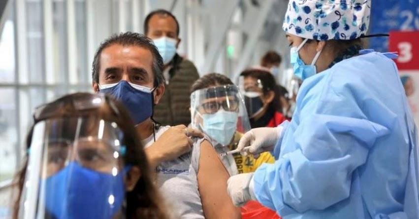 MINSA: El 17 de julio se iniciará vacunación con el Covid-19 de las personas de 45 y 46 años
