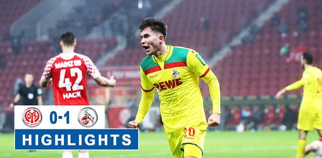 Mainz 05 vs Köln – Highlights
