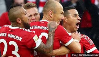 Bayern Munich vs Mainz 4-0 Bundesliga