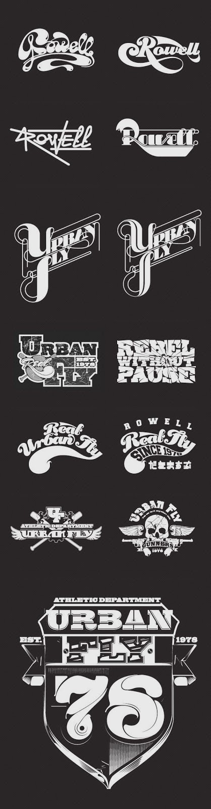 Typography, Type Treatments & Illustration 03