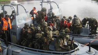 JTF commander, soldiers escape death in jetty fall down