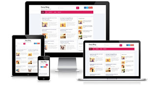 Easy Blog Bloger template