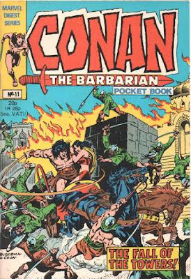 Conan the Barbarian pocket book #11