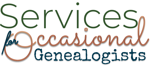 Jennifer Dondero | Services for Occasional Genealogists