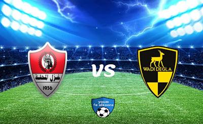 مشاهدة مباراة وادي دجلة وغزل المحلة بث مباشر اليوم 7-2-2021 في الدوري المصري.