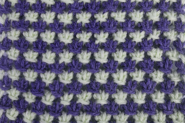 3 - Crochet Imagen Puntada tunecina a crochet y ganchillo por Majovel Crochet