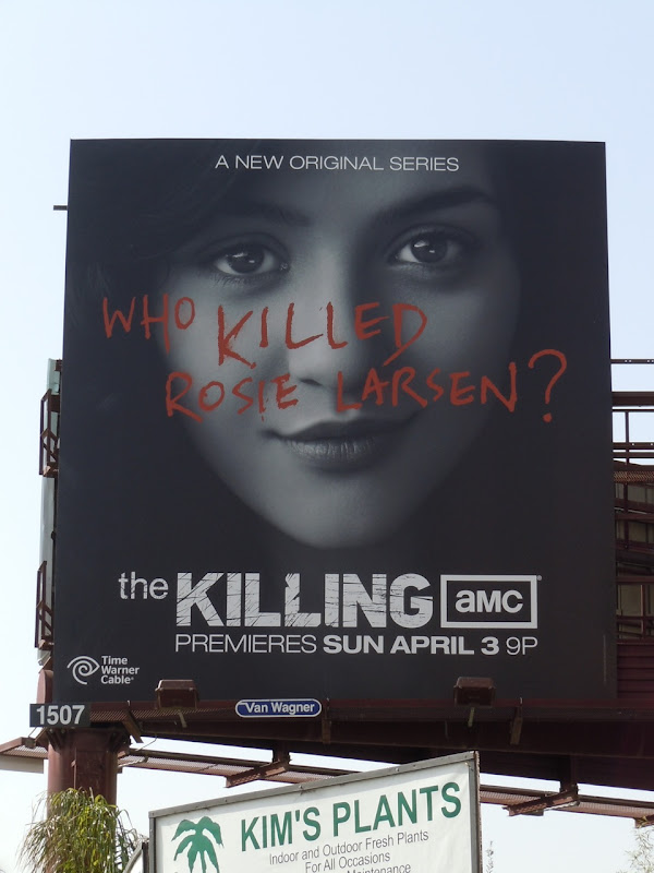 The Killing AMC TV billboard