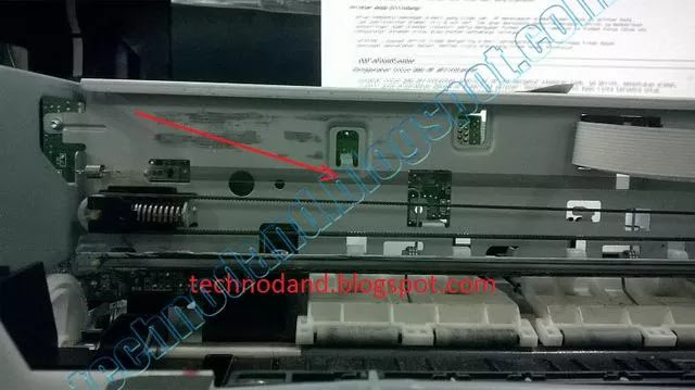 Blinking general ERROR atau FATAL ERROR pada Printer EPSON L100  T13 dan Me32