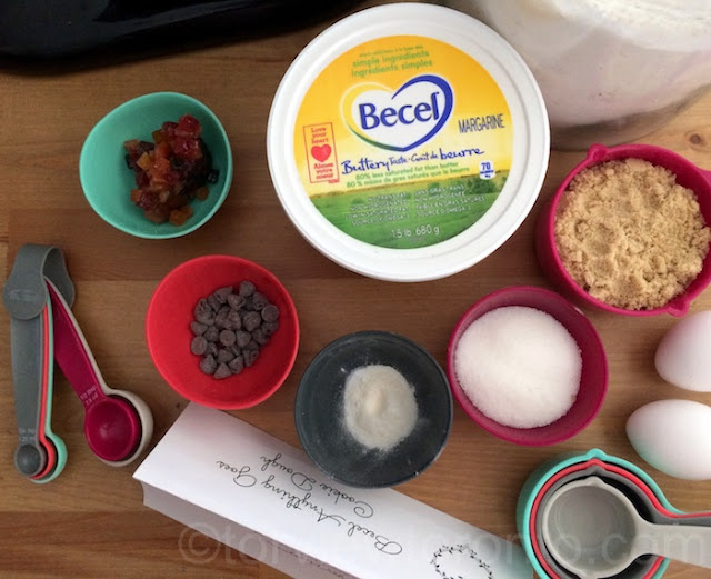 Becel Anything Goes Cookie Dough recipe #BakeWithHeart