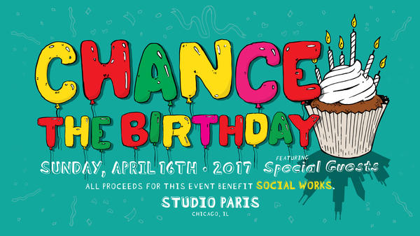 This Past Weekend I Had A Great Time Making Balloons At Chance The Rappers 24th Birthday Party Held Studio Paris Was More Than Just