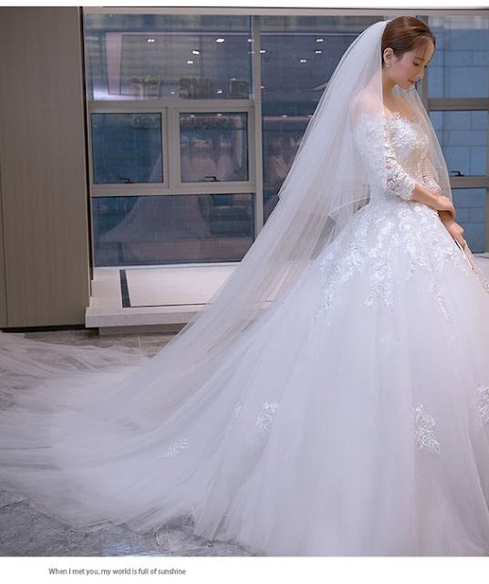 Những mẫu váy cưới công chúa giúp cô dâu đẹp lộng lẫy