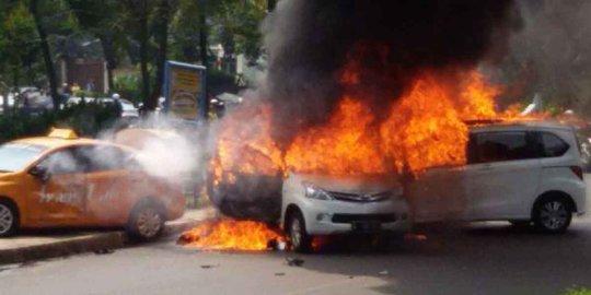 Pemilik Honda Freed Terbakar Di Bintaro Bernama Endang Ratna