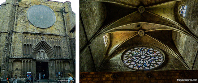 Rosácea da Igreja de Santa Maria del Pi, Barcelona