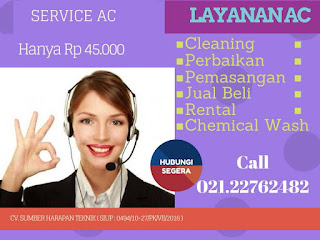 SERVICE AC APARTEMEN THE MAY FLOWER PROMO RP 45 000