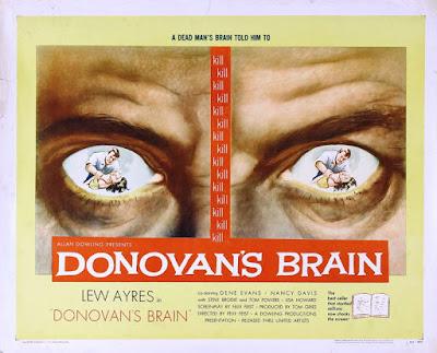 Poster - Donovan's Brain (1953)