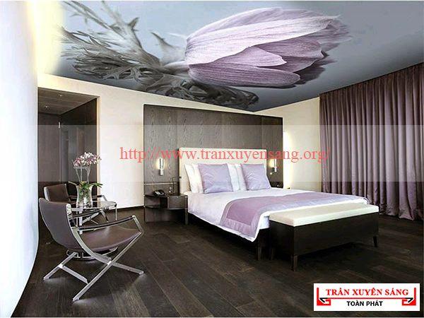 Mẫu trần phòng ngủ lãng mạn 6