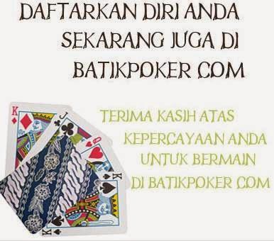 Batikpoker.com Judi Poker Online Uang Asli Indonesia | Intan Panjaitan | Informasi Terbaik