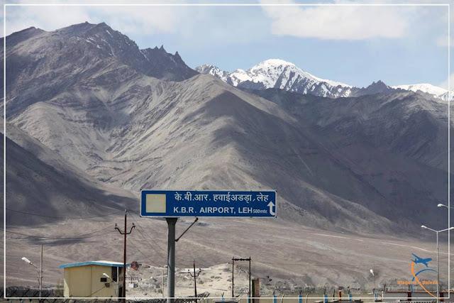 Aeroporto de Leh Ladakh - Índia