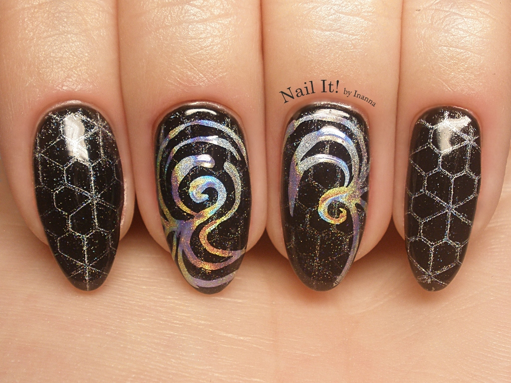 NEW STAMPING METHOD using POWDERS (Indigo HOLO MANIX Review & Comparison to other holo powders)