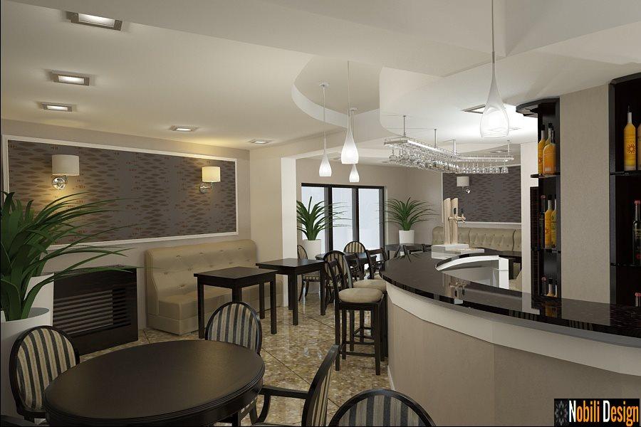 Design interior bar cafenea stil clasic- Design Interior Bucuresti