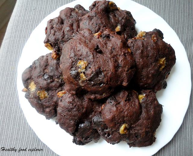 Ciastka czekoladowo-bananowe