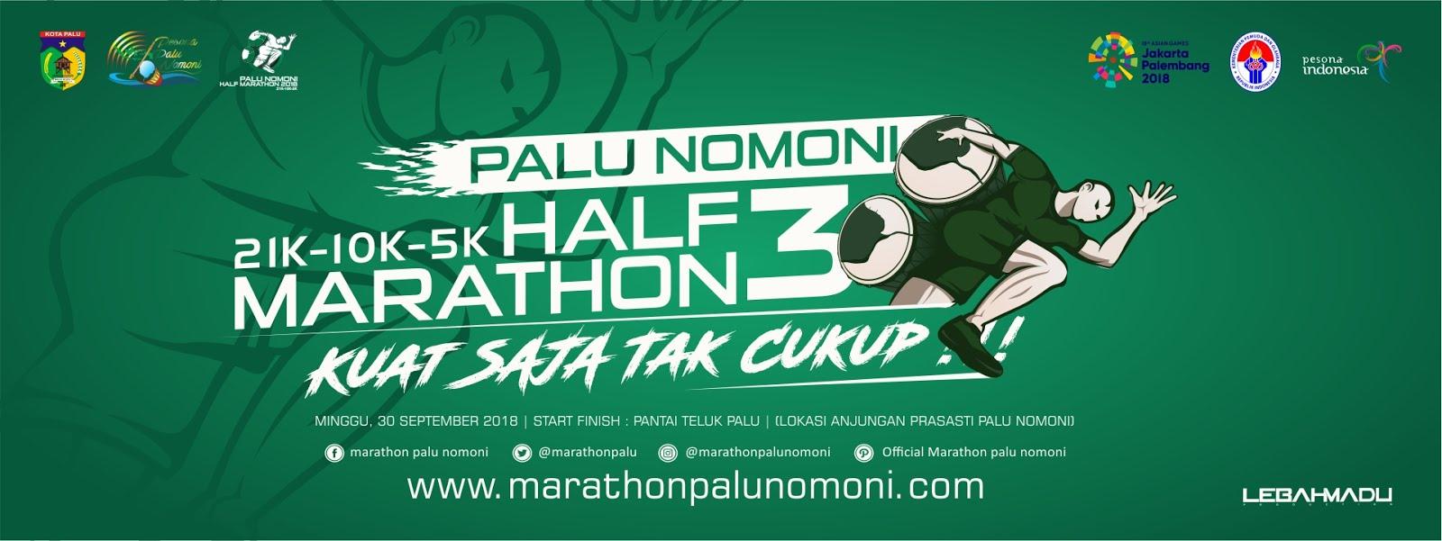 Half Marathon Palu Nomoni • 2018