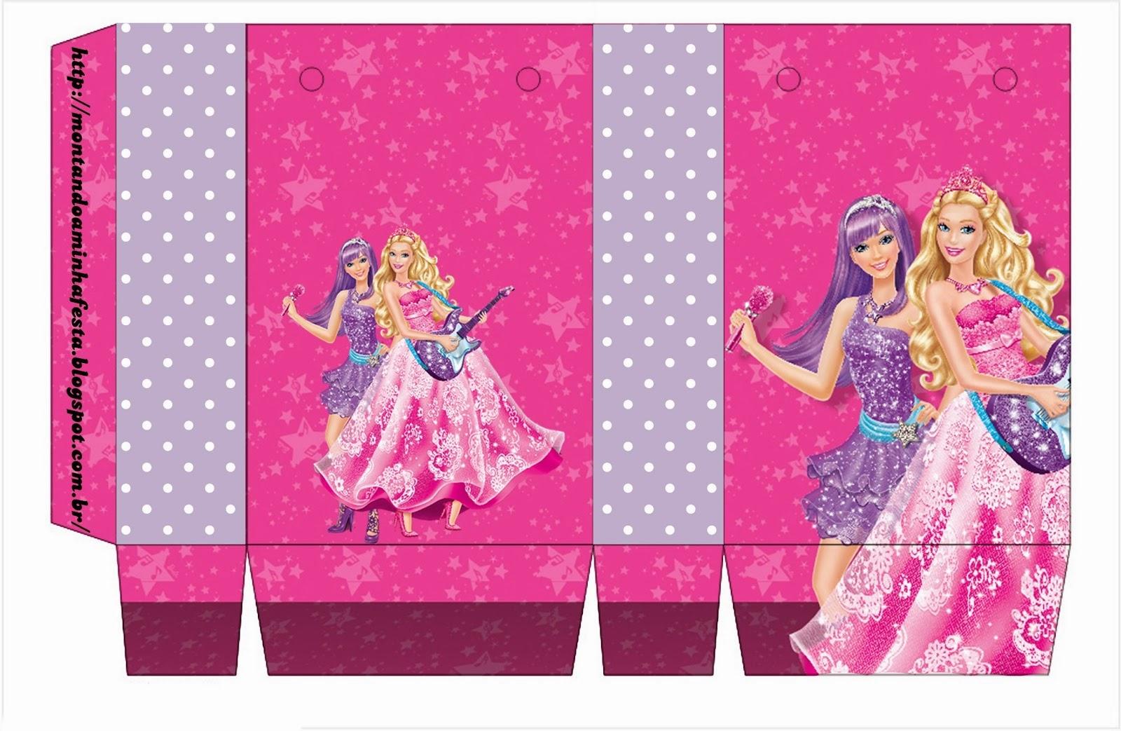 Lujo Vestido De Barbie Para Fiesta De Cumpleaños Foto - Colección de ...