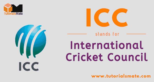 ICC Full Form