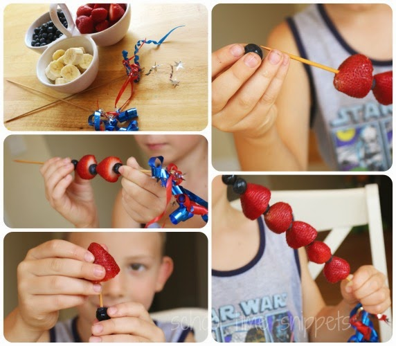 edible 4th of july snack for kids