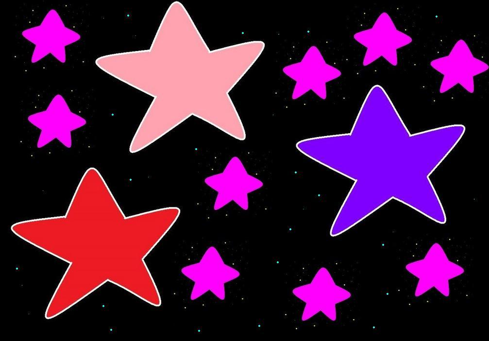 Estrellas Animadas De Colores Con Movimientos