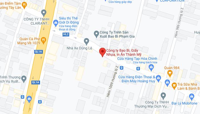 1019 Hương Lộ 2 Phường Bình Trị Đông Quận Bình Tân Thành Phố Hồ Chí Minh