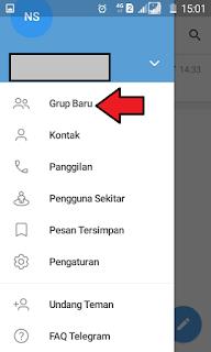 Membuat grup Telegram