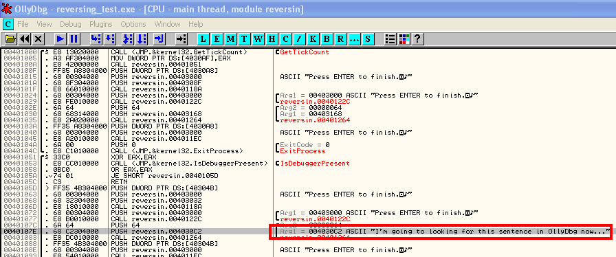 How to get the serial number of a program with OllyDbg ~ Hacking