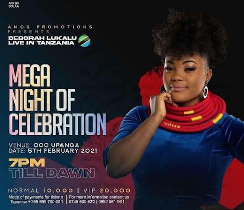 Hii hapa List ya Waimbaji Watakao Tumbuiza Kwenye ( Mega Night of Celebration )