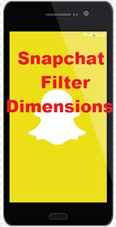 Filter dimensions Snapchat || Cara dapatkan filter snapchat dimensions