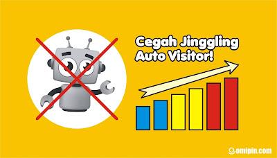 Cara Cepat Mengatasi dan Mencegah Blog Dijingling Oleh Orang Lain - Mengatasi Serangan Auto Visitor!