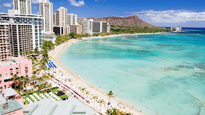 Travel in Waikiki Make yourself forget about problems